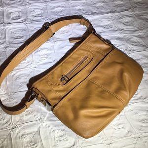 Tyler Rodan mustard colored bag